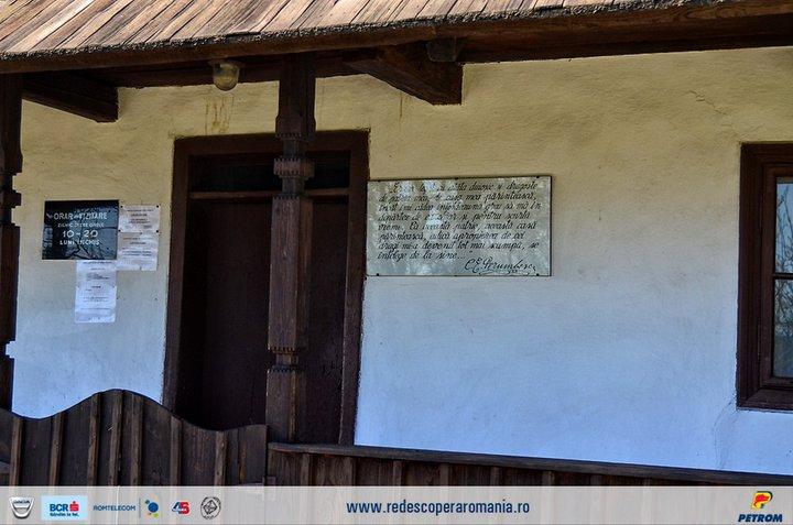 Casa Memoriala Ciprian Porumbescu - prispa