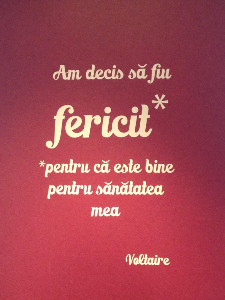 fericire Voltaire