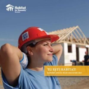 coperta raport Habitat