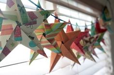 christmas stars origami