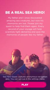 Aplicatie Sea Hero 1