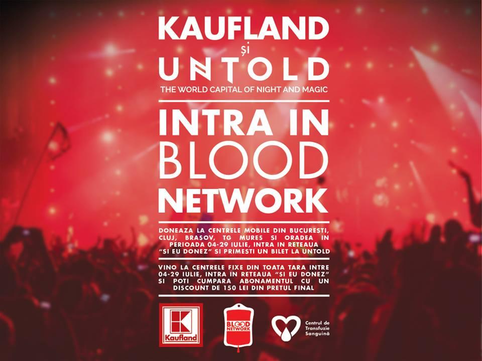 Kaufland campanie donat sange Untold