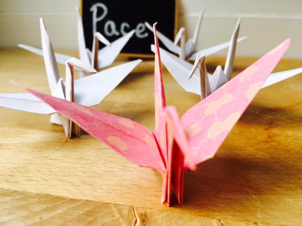 1000 de cocori origami - pace