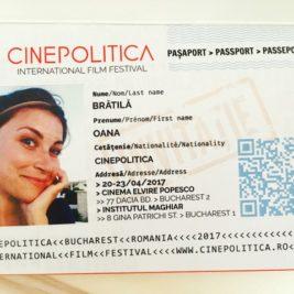 Pasaport Cinepolitica - festival de film documentar