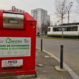 cointainer pubela pentru reciclarea electronicelor - Ecotic